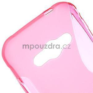 S-line gélový obal na Samsung Galaxy Xcover 3 - ružový - 4