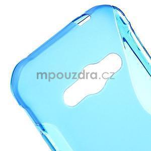 S-line gélový obal na Samsung Galaxy Xcover 3 - modrý - 4