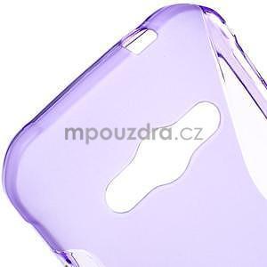 S-line gélový obal na Samsung Galaxy Xcover 3 - fialový - 4