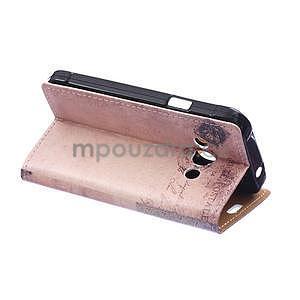 Peňaženkové púzdro na Samsung Galaxy Xcover 3 - mačička - 4