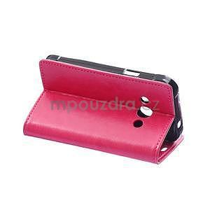 Rose koženkové puzdro Samsung Galaxy Xcover 3 - 4