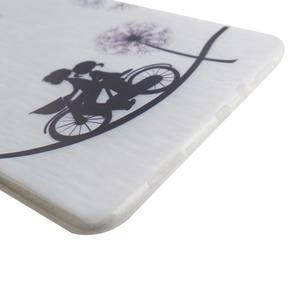 Ultrantenký obal pre tablet Samsung Galaxy Tab A 9.7 - láska na kole - 4