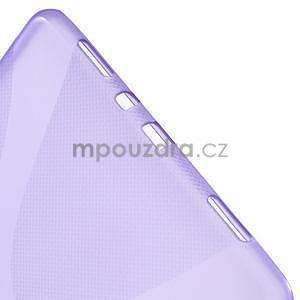 X-line gélový obal pre tablet Samsung Galaxy Tab A 9.7 - fialový - 4