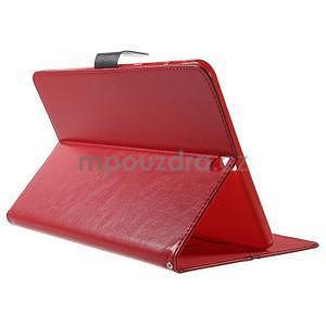 Flatense štýlové puzdro pre Samsung Galaxy Tab S2 9.7 - červené - 4