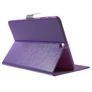 Flatense štýlové puzdro pre Samsung Galaxy Tab S2 9.7 - fialové - 4