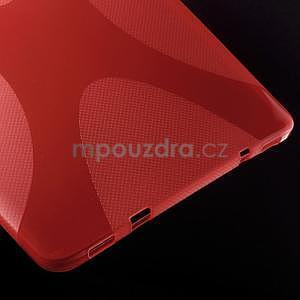 X-line gélový kryt na Samsung Galaxy Tab S2 9.7 - červený - 4