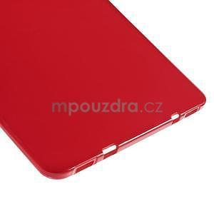 Glossy gélový obal pre Samsung Galaxy Tab S2 9.7 - červený - 4