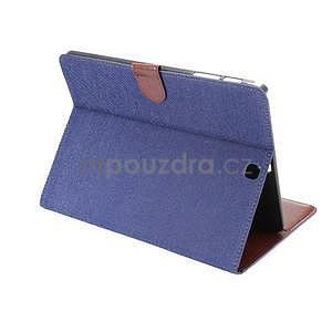 Jeans puzdro na tablet Samsung Galaxy Tab S2 9.7 - tmavomodré - 4