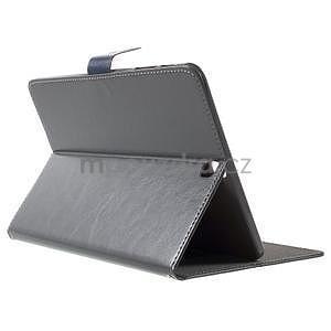 Flatense štýlové puzdro pre Samsung Galaxy Tab S2 9.7 - šedé - 4
