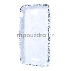 Gelový obal na Sony Xperia E4 - umělecká květina - 4