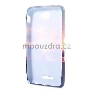 Gélový obal pre Sony Xperia E4 - vycházející slnko - 4