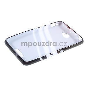 Gelový obal na Sony Xperia E4 - dekor - 4