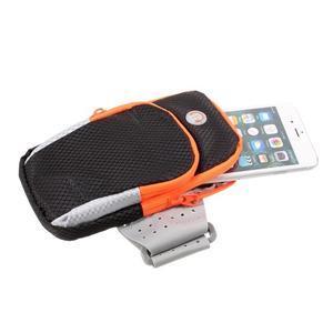 Zippy univerzálna športová taštička na ruku pre telefóny do rozmeru 157 x 77 mm - čierna - 4