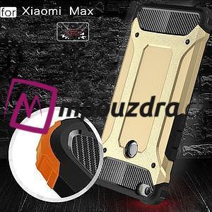Guard odolný obal pre mobil Xiaomi Mi Max - čierný - 4