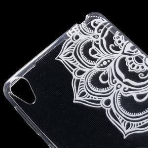 Ultratenký gélový obal na Sony Xperia E5 - mandala - 4