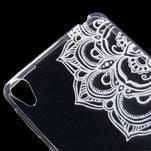 Ultratenký gélový obal pre Sony Xperia E5 - mandala - 4/5