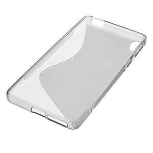 S-line gélový obal na mobil Sony Xperia E5 - šedý - 4