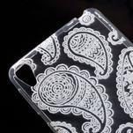 Ultratenký gélový obal pre Sony Xperia E5 - krajky I - 4/5