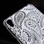 Ultratenký gélový obal pre Sony Xperia E5 - krajky II - 4/5