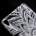 Ultratenký gélový obal pre Sony Xperia E5 - henna - 4/5