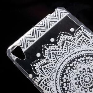 Ultratenký gélový obal pre Sony Xperia E5 - mandala III - 4