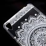 Ultratenký gélový obal pre Sony Xperia E5 - mandala III - 4/5