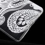 Ultratenký gélový obal na Sony Xperia E5 - květina - 4/5