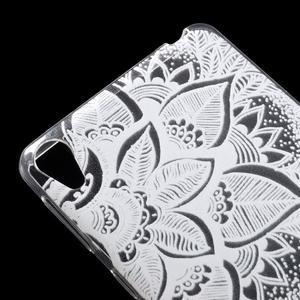 Ultratenký gélový obal na Sony Xperia E5 - lístky - 4