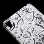 Ultratenký gélový obal na Sony Xperia E5 - lístky - 4/6