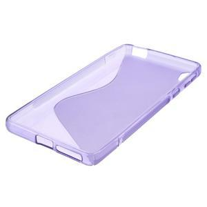 S-line gélový obal na mobil Sony Xperia E5 - fialový - 4