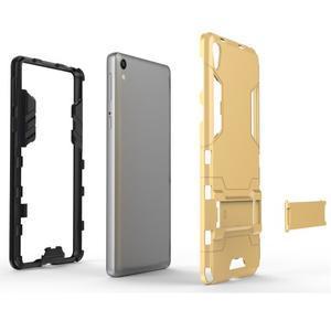 Outdoor odolný obal na mobil Sony Xperia E5 - šedomodrý - 4