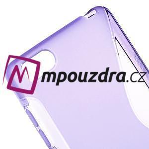 S-line gélový obal pre mobil Xiaomi Mi4c/Mi4i - fialový - 4