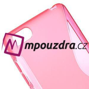 S-line gélový obal pre mobil Xiaomi Mi4c/Mi4i - rose - 4