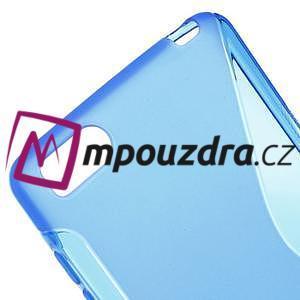 S-line gelový obal na mobil Xiaomi Mi4c/Mi4i - modrý - 4