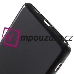 Matný gelový obal na Sony Xperia XA Ultra - černý - 4