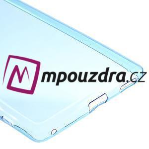 Ultratenký gélový obal pre mobil Sony Xperia XA Ultra - modrý - 4