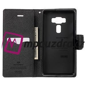 Diary PU kožené puzdro pre mobil Asus Zenfone 3 Deluxe - hnedé - 4