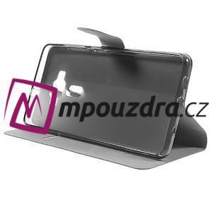 Horse PU kožené pouzdro na Asus Zenfone 3 Deluxe - hnědé - 4