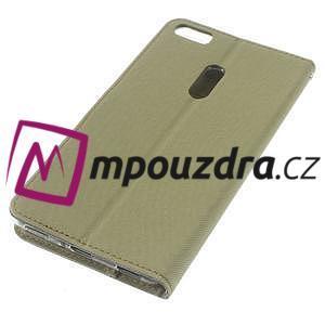 Diary peňaženkové pouzdro na mobil Asus Zenfone 3 Ultra - khaki - 4