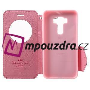 Diary puzdro s okýnkem na mobil Asus Zenfone 3 ZE520KL - rose - 4
