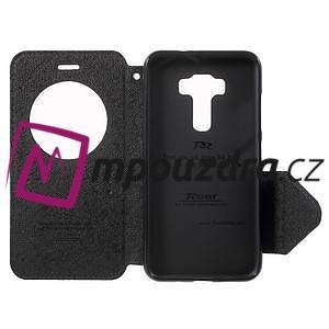 Diary puzdro s okýnkem na mobil Asus Zenfone 3 ZE520KL - tmavěmodré - 4