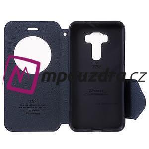 Diary puzdro s okýnkem na mobil Asus Zenfone 3 ZE520KL - fialové - 4