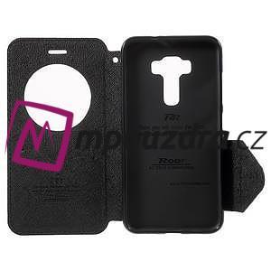 Diary puzdro s okýnkem na mobil Asus Zenfone 3 ZE520KL - čierne - 4