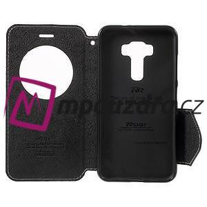Diary puzdro s okýnkem na mobil Asus Zenfone 3 ZE520KL - biele - 4