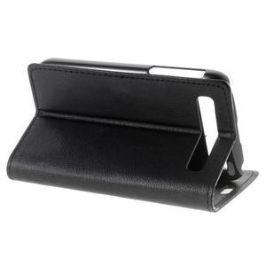 Peňaženkové puzdro pre mobil BlackBerry Classic - čierné - 4