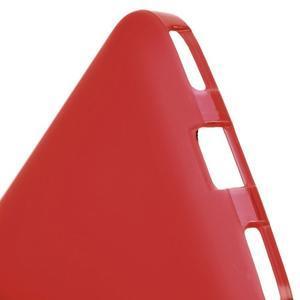Matný gélový obal pre BlackBerry Classic - červený - 4