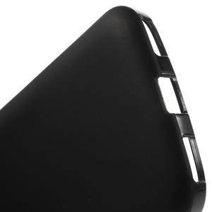 Matný gelový obal na BlackBerry Classic - černý - 4