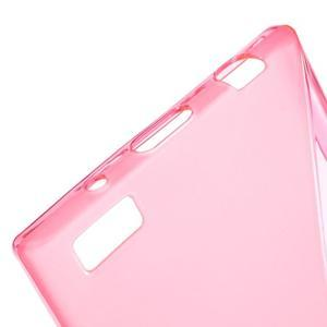 S-line gélový obal pre mobil BlackBerry Leap - rose - 4