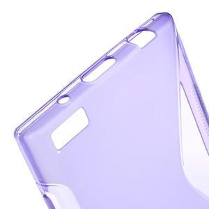 S-line gelový obal na mobil BlackBerry Leap - fialový - 4