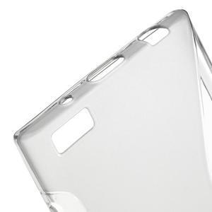 S-line gélový obal pre mobil BlackBerry Leap - šedý - 4
